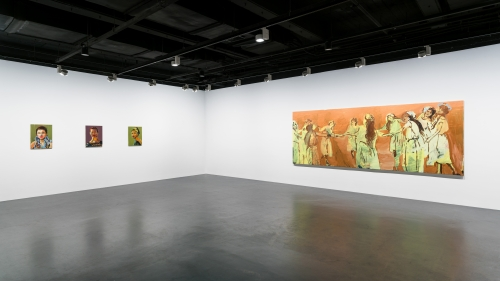 The Dance of Icarus, installation view at YUZ Museum Shanghai, 2017.