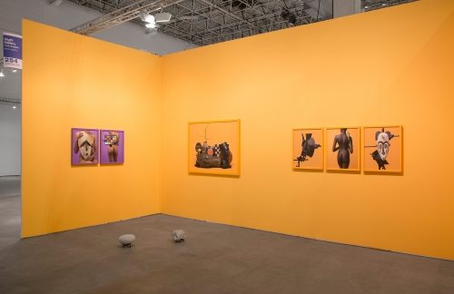 Installation view at EXPO Chicago, 2018.