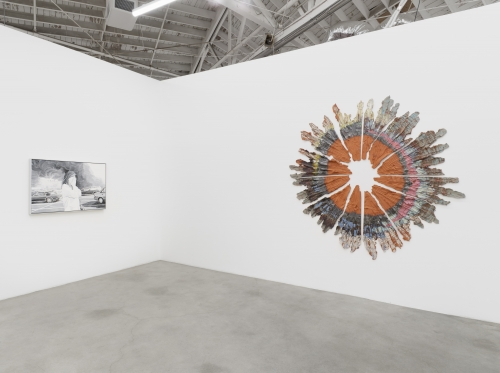 Majeure Force, Part One, installation view at Night Gallery, 2020.