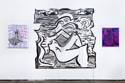 Installation view, Material Art Fair, Mexico City, 2015