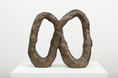 "Julia Haft-Candell, ""Woven Infinity,"" 2021"