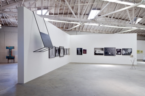 Trains, installation view, 2014.