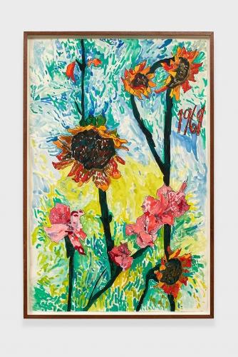 """""""1969 Sunflowers,"""" 2015."""