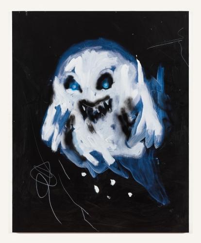 """Robert Nava, """"Blue Ghost,"""" 2019"""