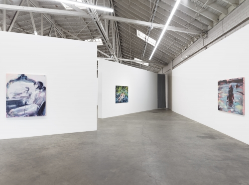 Running Towards Nothing, Installation view at Night Gallery, 2019.