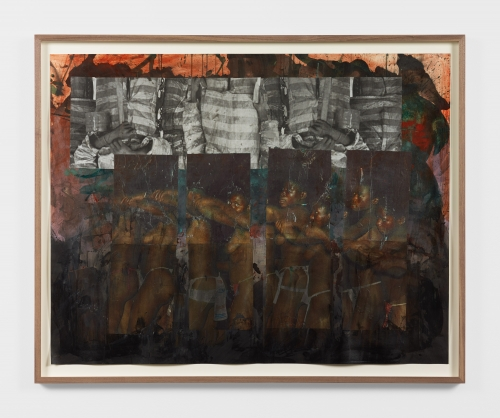 """Kandis Williams, """"In an events-without-witness era,"""" 2019"""
