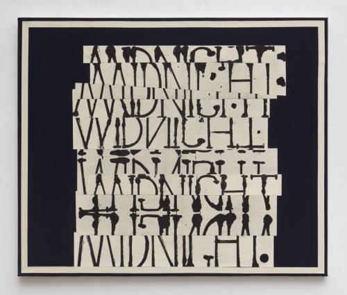 """Word Painting (Midnight),"" 2017"