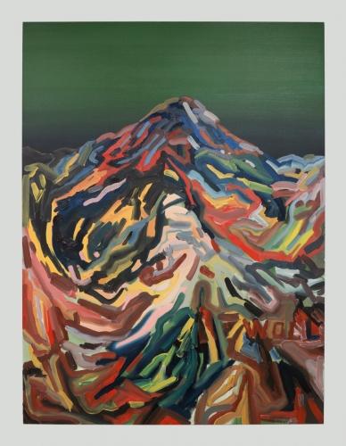 """Mt. Wilson (Western III),"" 2016."