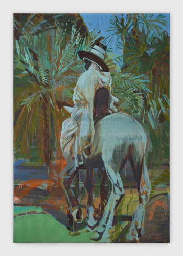 """Claire Tabouret, """"The Wanderer,"""" 2017."""