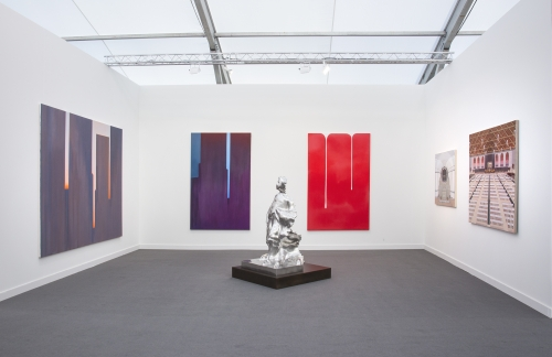 Installation view, Frieze New York, 2018
