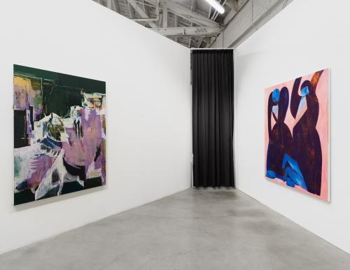 NADA Miami, installation view at Night Gallery, 2020.
