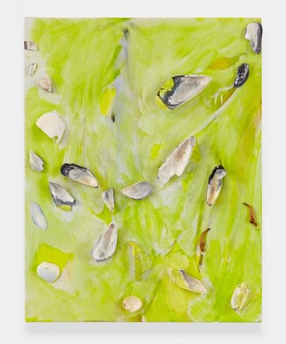 """""""Beach (lime green),"""" 2013"""