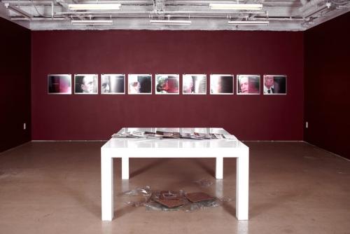 """Breaking Waves,"" Installation view, Taxter and Spengemann, 2011"