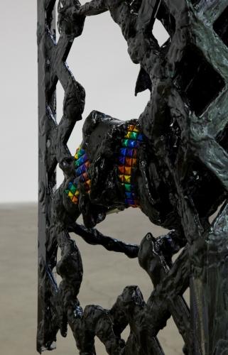 "Debo Eilers, ""Stall (Ball Feeder),"" detail, 2016"