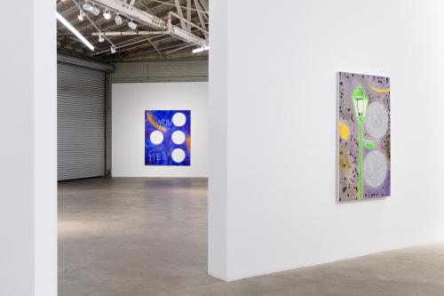 Blue Boy, Installation view at Night Gallery, 2019.