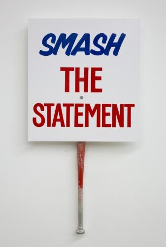"""Jesse Harris, """"Smash the Statement,"""" 2017"""