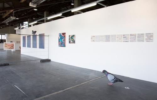 Installation view at Art-O-Rama, 2018.