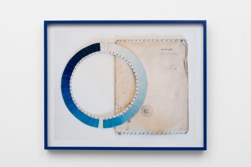 Elise Rasmussen, Cyanometer (blue), 2018.