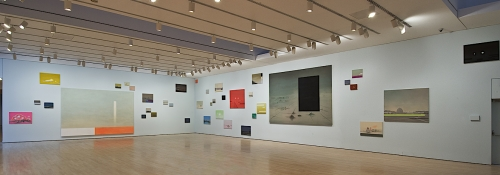 Green Zone, installation view at the National Gallery of Canada, 2009