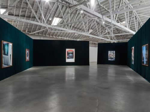 Rose Marcus, Front, installation view at Night Gallery, 2019.
