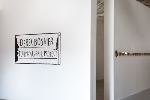 Installation view, Journey/Israel Project, 2014