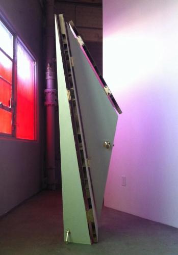 """""""Door #4,"""" modified door, 2011."""