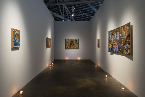 Christine Wang, Devotional Art For Your Home, installation view, 2016