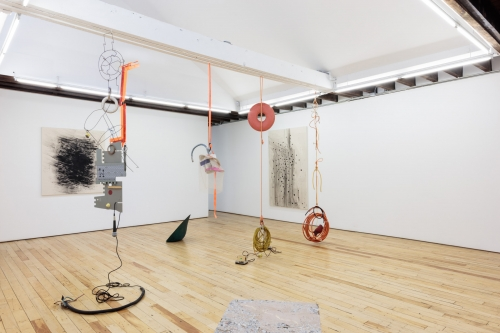 Installation view, CONDO New York, Rachel Uffner Gallery, 2018.