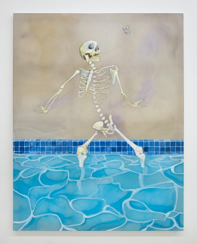 "Paul Heyer, ""Cooling Off,"" 2020"