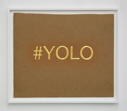 "Christine Wang, ""YOLO,"" 2016"