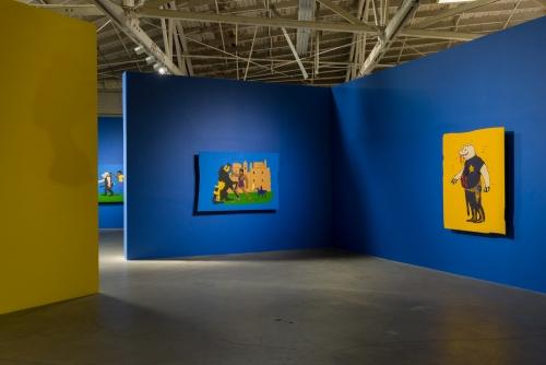 Awol Erizku, Menace II Society, installation view, 2017