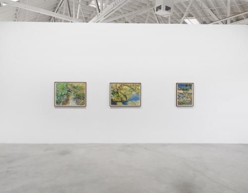 La Brea and the River, installation view, 2020.