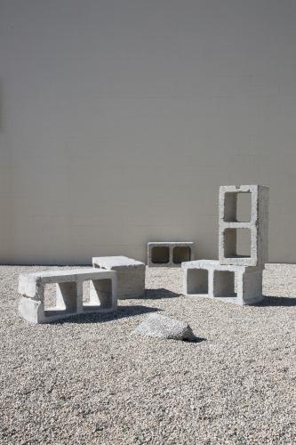 Social Block, installation view at Night Gallery, 2020.