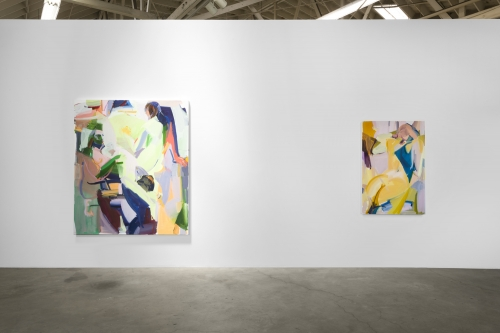 Installation view, Double Field, 2018.