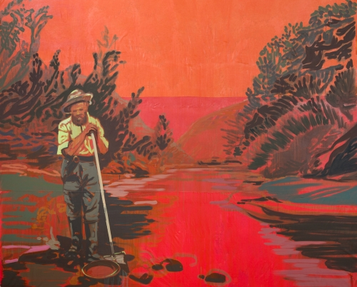 """""""Tired Gold Miner,"""" 2017"""