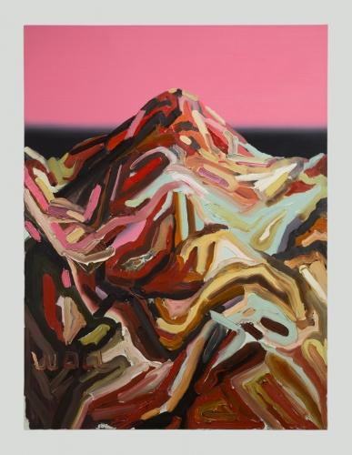 """Mt. Wilson (Western VIII),"" 2016."