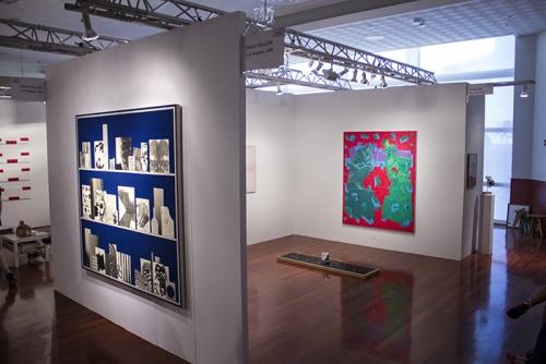 Installation view, NADA Miami, 2013