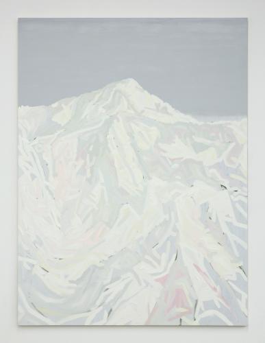 """""""Mt. Wilson (White, Yellow, Pink, Green, Gray),"""" 2015."""