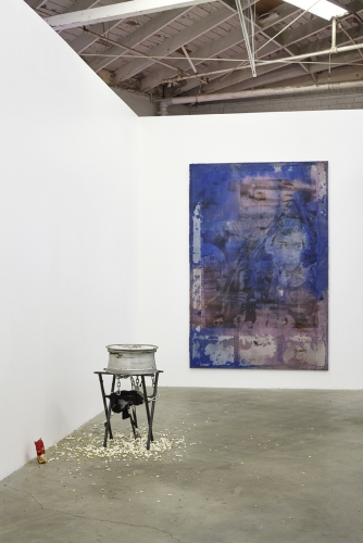 Installation view, 32 Leaves, I Don't The Face of Smoke, 2014