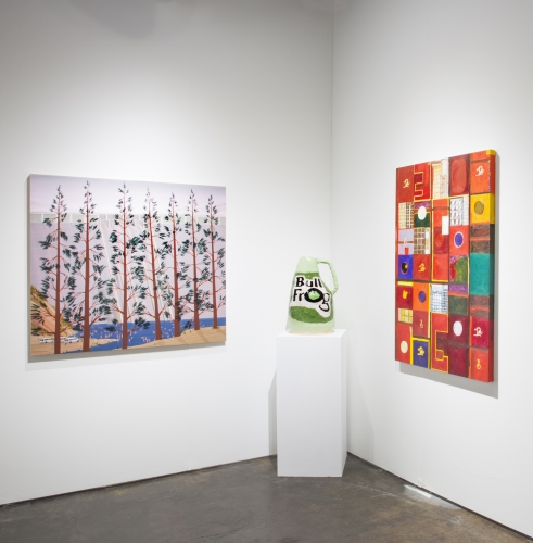 Installation view at NADA Miami, 2018