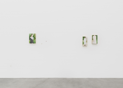 In the Garden, installation view, 2020.