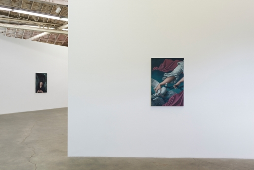 The Progress of Love, installation view at Night Gallery, 2016.