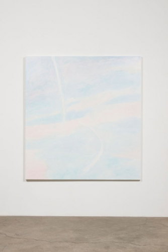 "Paul Heyer, ""Large Sky with Contrails,"" 2016"