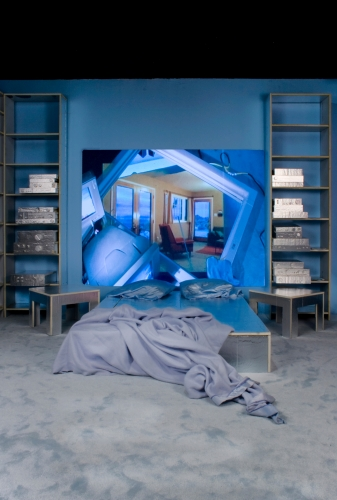 Rape of the Mirror, Installation view, 2011.