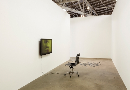 Smiley Suicide installation view, 2015.