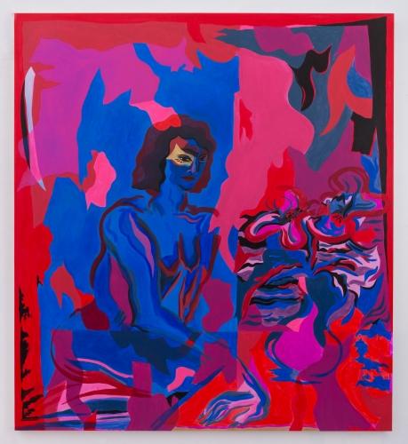 """Mira Dancy, """"Red Bouquet,"""" 2016"""