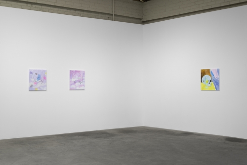 """""""I am the Sky,"""" Installation view at Night Gallery, 2016"""