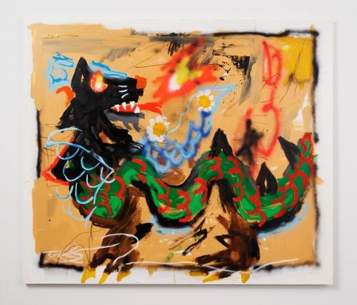 "Robert Nava, ""Cat Dragon,"" 2021"