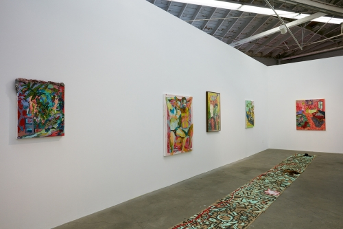 Alex Chaves, The Amerikan Green Cross​, installation view, 2015.