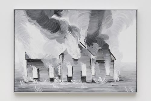 """""""Elegy (Burning House),"""" 2019"""